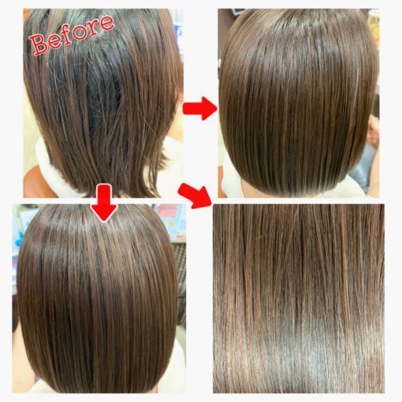 エクラの新トリートメントが好評です!髪の強度を上げながらツヤサラ髪に!